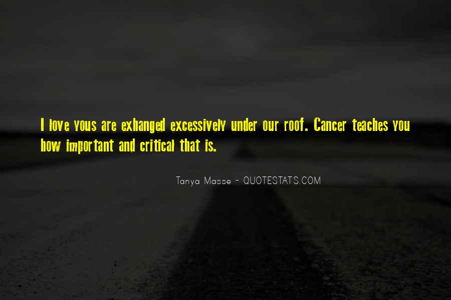 Quotes About Cancer And Life #1027796