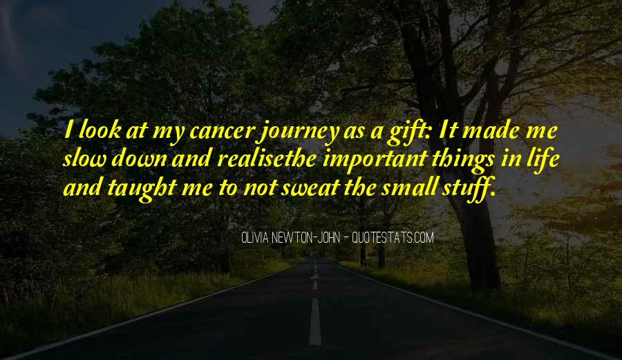 Quotes About Cancer And Life #138250