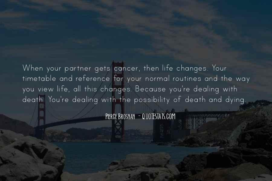 Quotes About Cancer And Life #163605