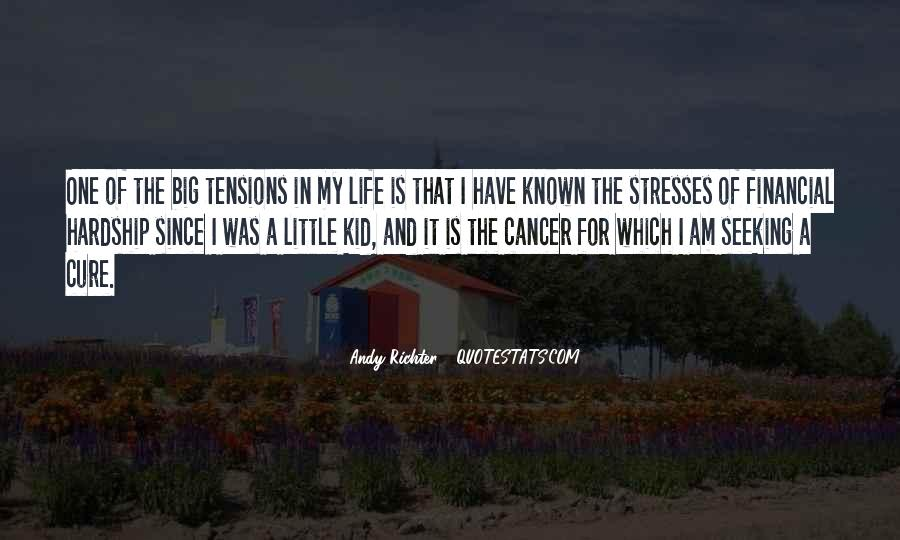 Quotes About Cancer And Life #515317