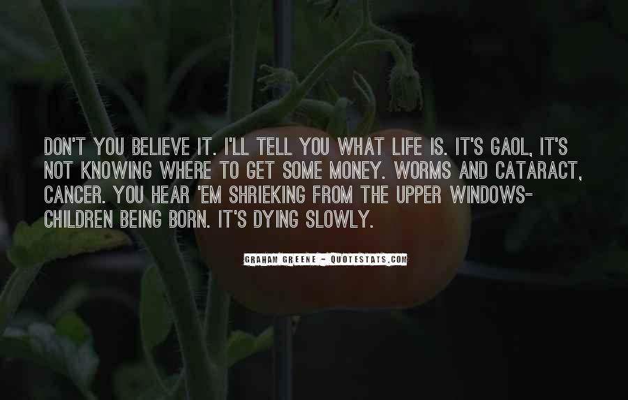 Quotes About Cancer And Life #683243