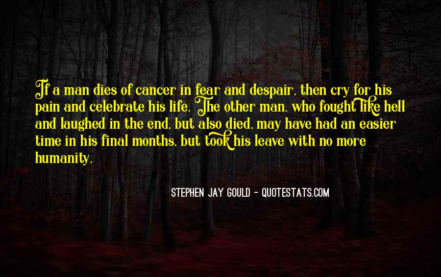 Quotes About Cancer And Life #811196