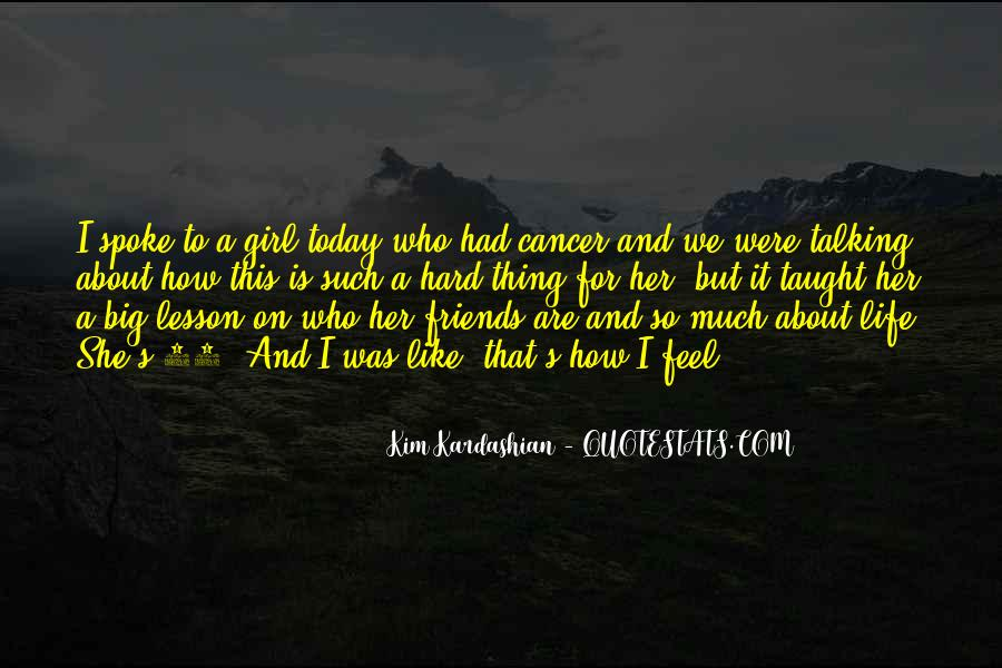 Quotes About Cancer And Life #839168
