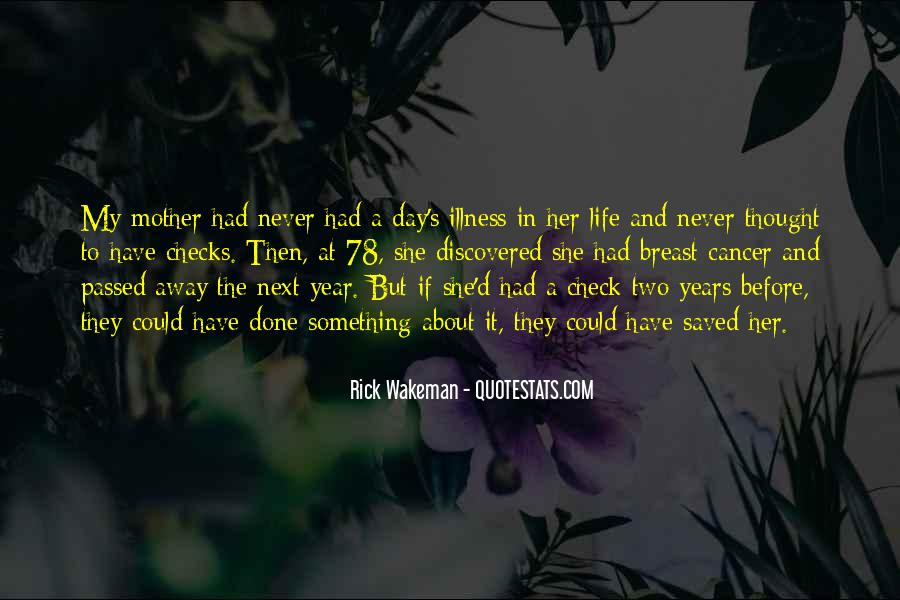 Quotes About Cancer And Life #883648