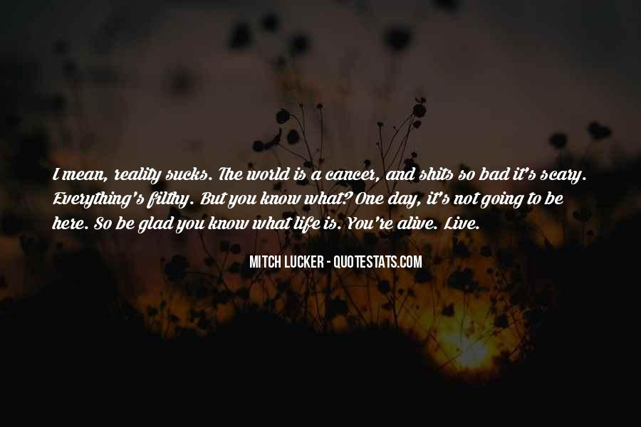 Quotes About Cancer And Life #912005