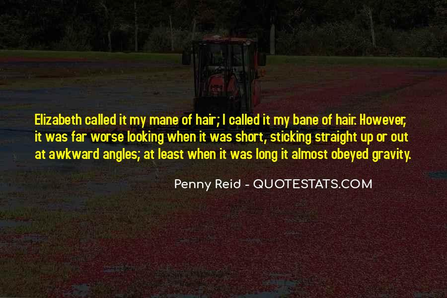 Quotes About Having Straight Hair #426561