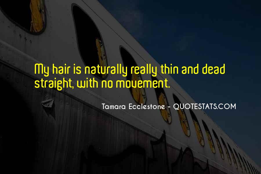 Quotes About Having Straight Hair #670089