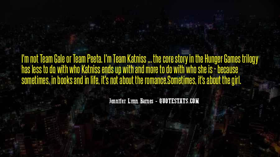 Quotes About Katniss And Peeta Hunger Games #429765