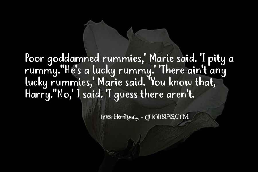 Quotes About Rummy #1421298