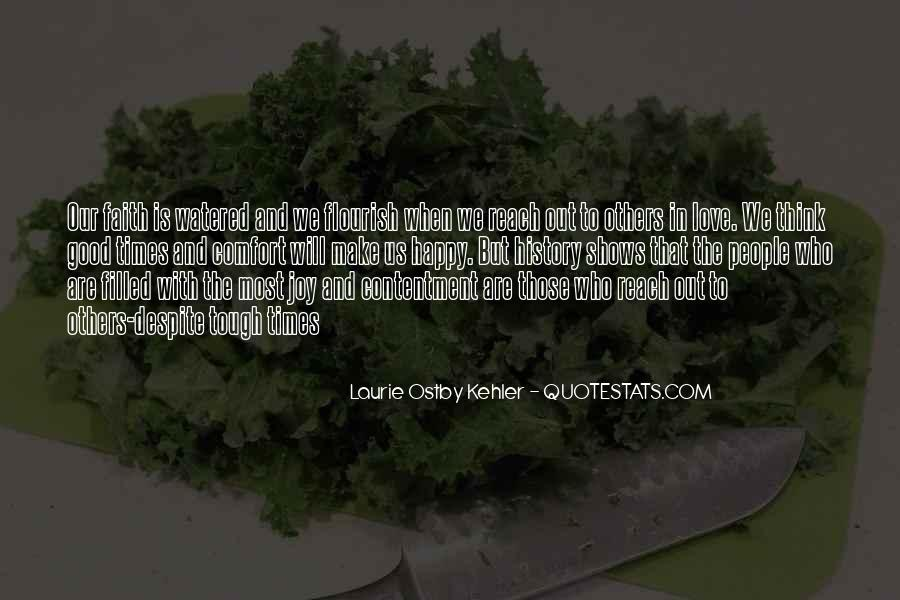 Quotes About Tough Times In Love #1744341