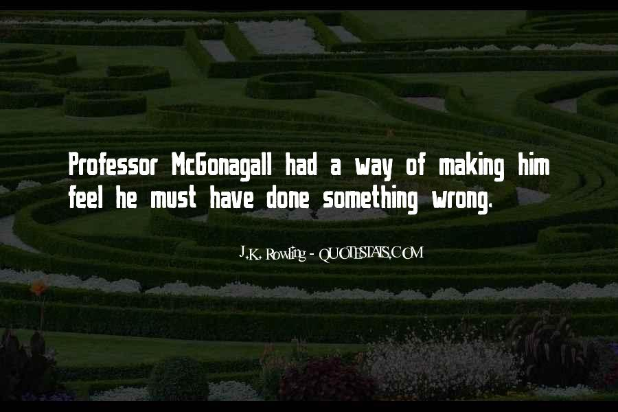 Quotes About Mcgonagall #1111698