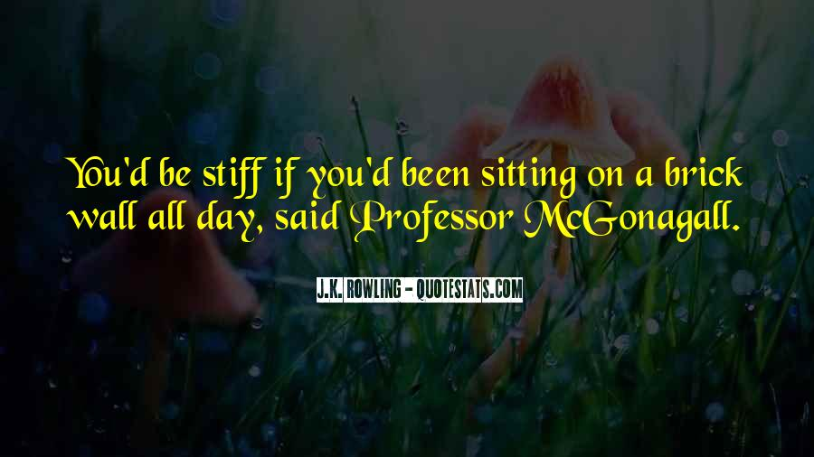 Quotes About Mcgonagall #1238721