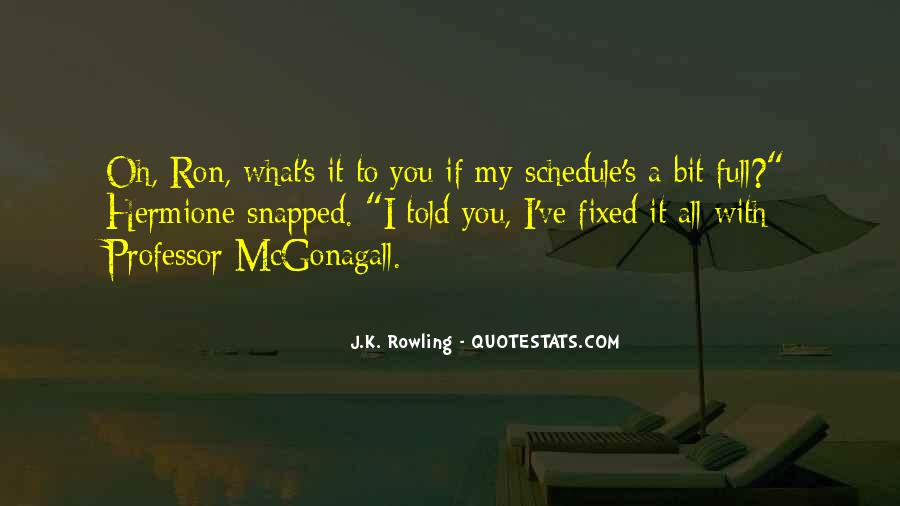 Quotes About Mcgonagall #1487321