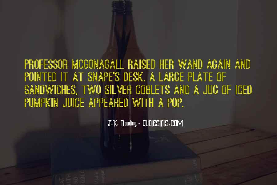 Quotes About Mcgonagall #1663459