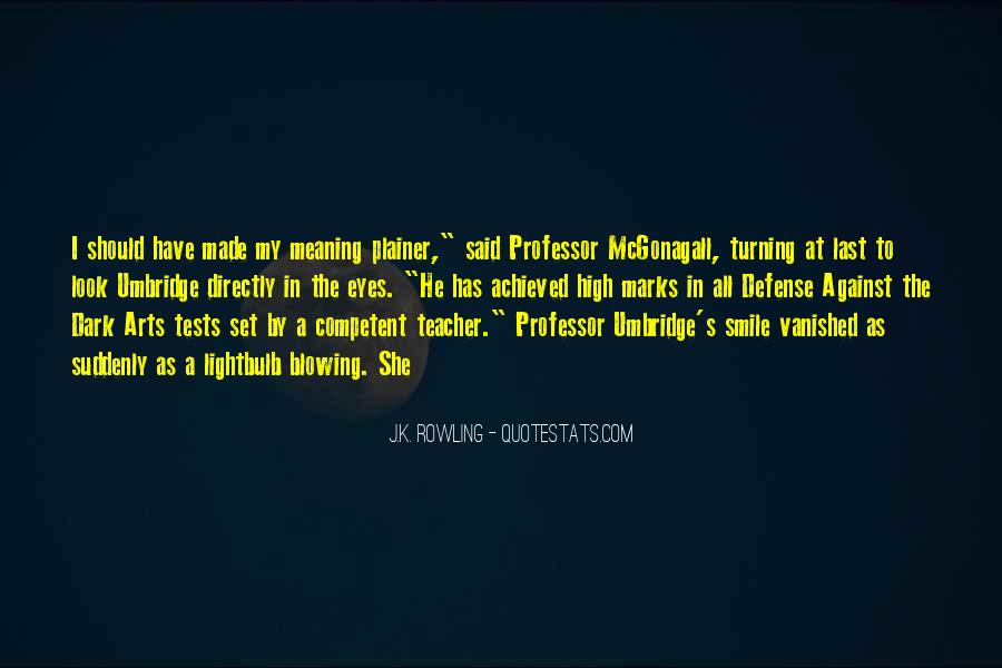 Quotes About Mcgonagall #207539
