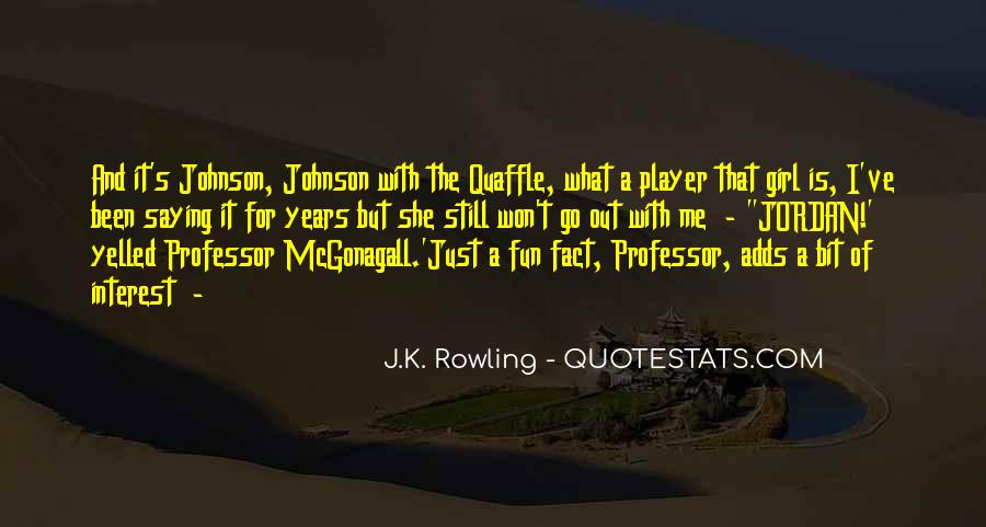 Quotes About Mcgonagall #625677