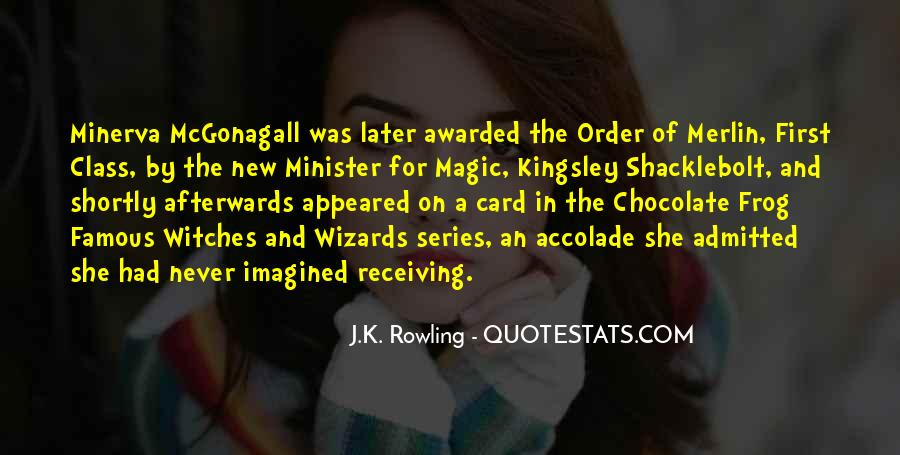 Quotes About Mcgonagall #948661