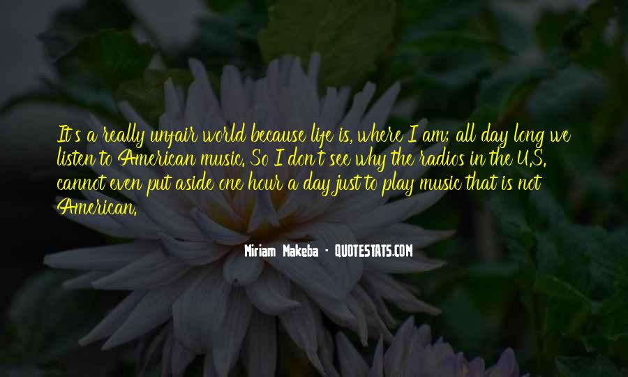Quotes About How Life Is Unfair #499268