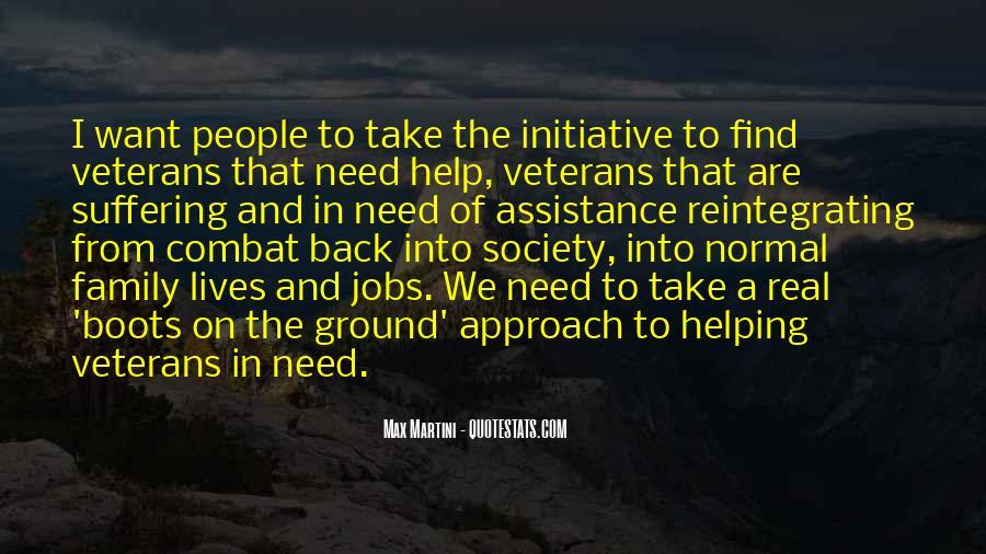 Quotes About Combat Veterans #1286190