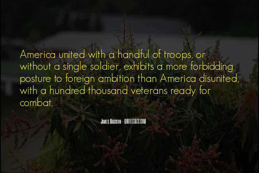 Quotes About Combat Veterans #1340180