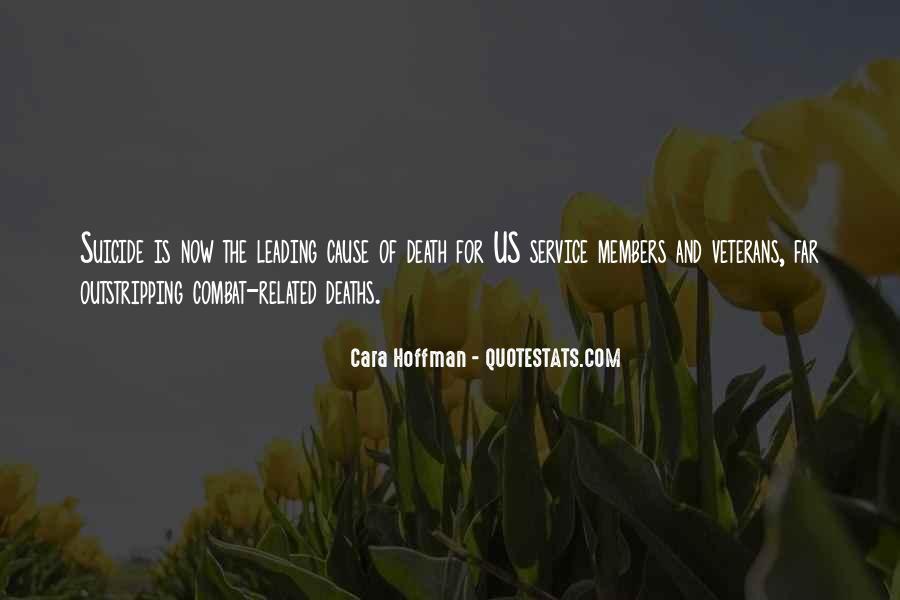 Quotes About Combat Veterans #710163