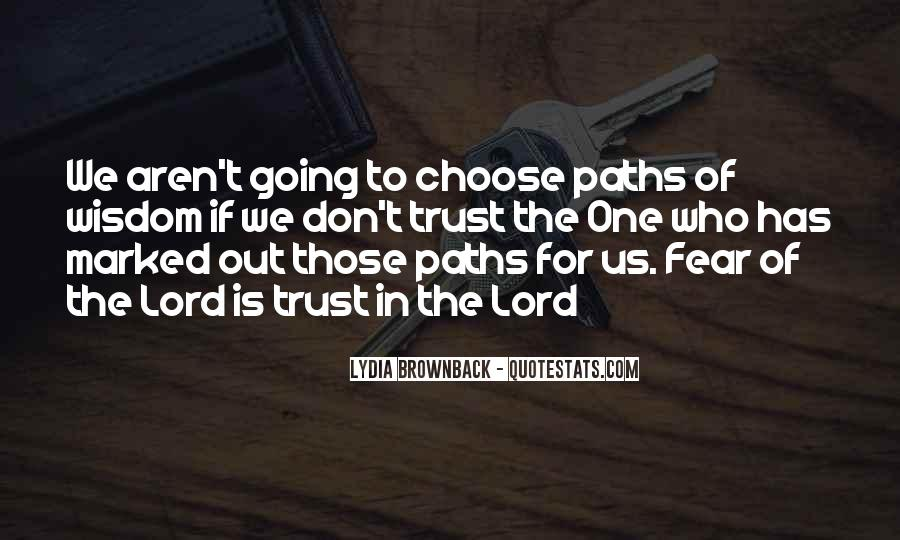 Quotes About Two Paths #125125