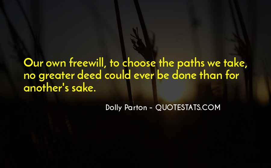 Quotes About Two Paths #133282
