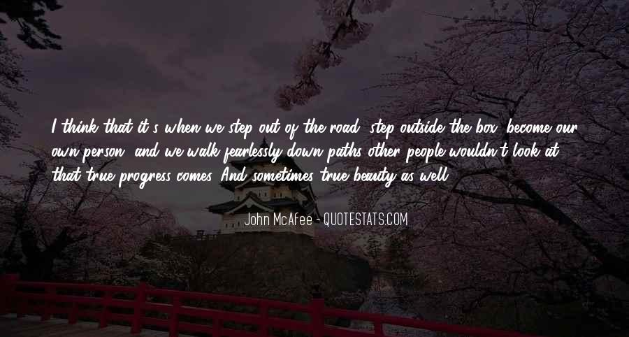 Quotes About Two Paths #144775