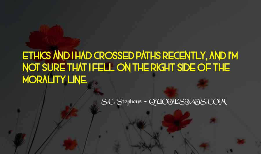 Quotes About Two Paths #15508