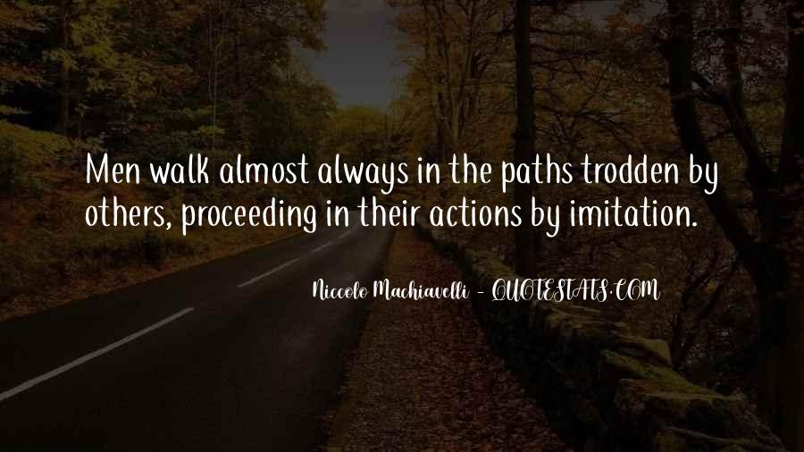 Quotes About Two Paths #158689
