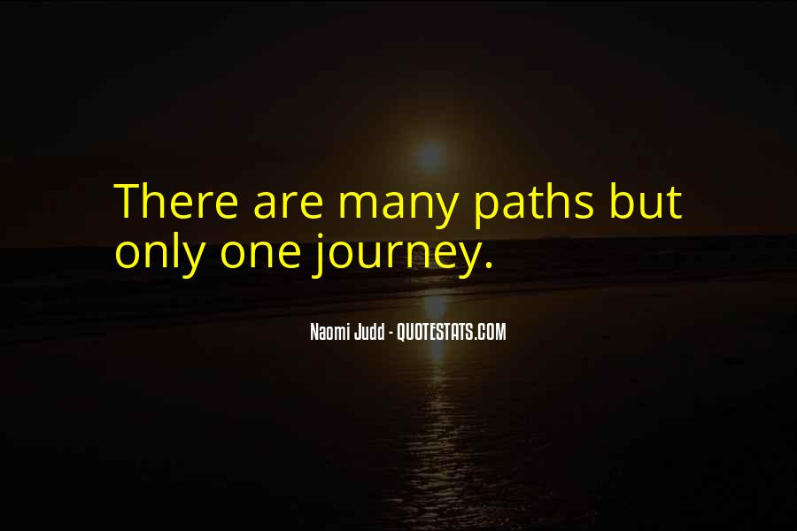 Quotes About Two Paths #165882