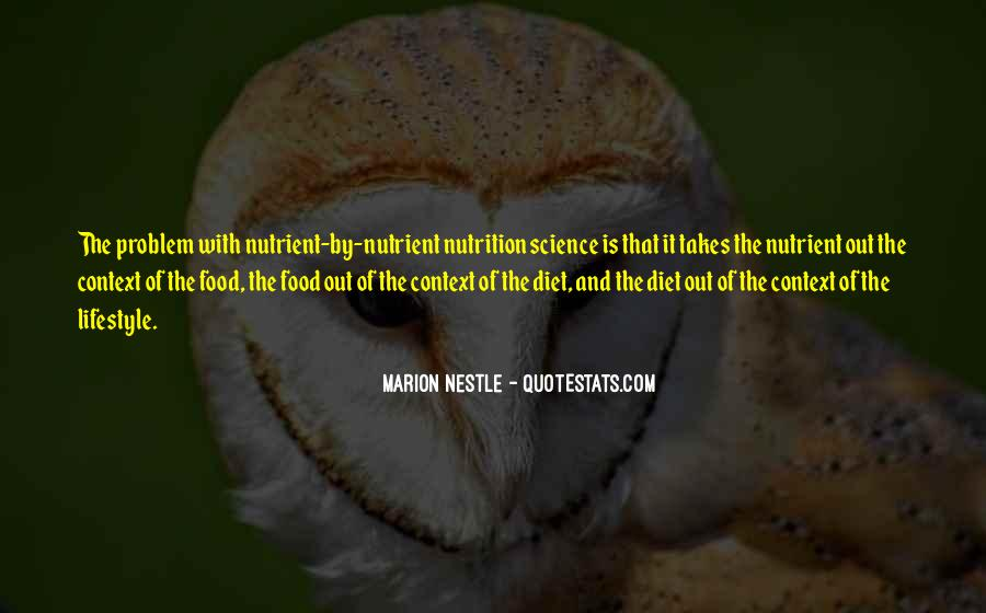 Quotes About Diet And Nutrition #1718379