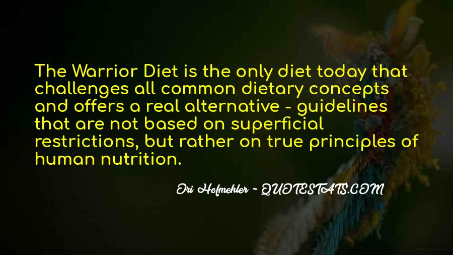 Quotes About Diet And Nutrition #513977