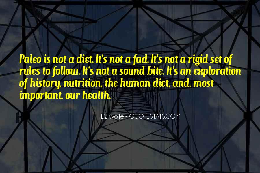 Quotes About Diet And Nutrition #66585