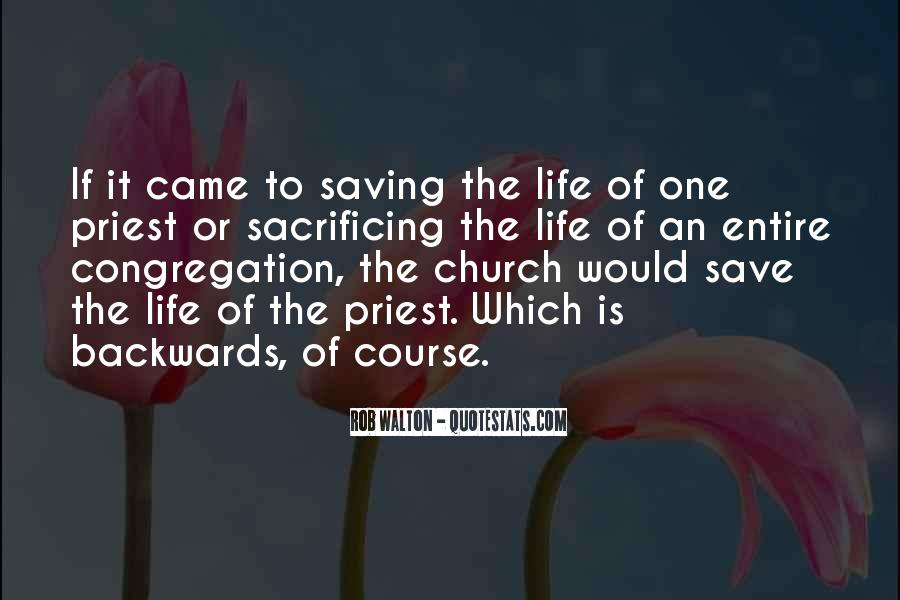 Quotes About Saving One Life #277519