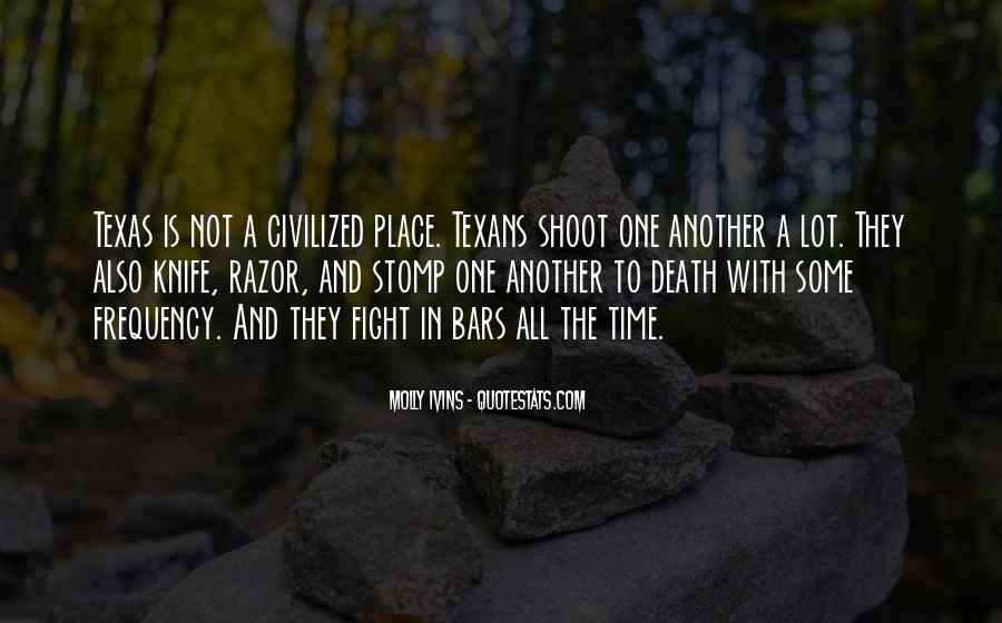Quotes About Knife Fighting #1313001