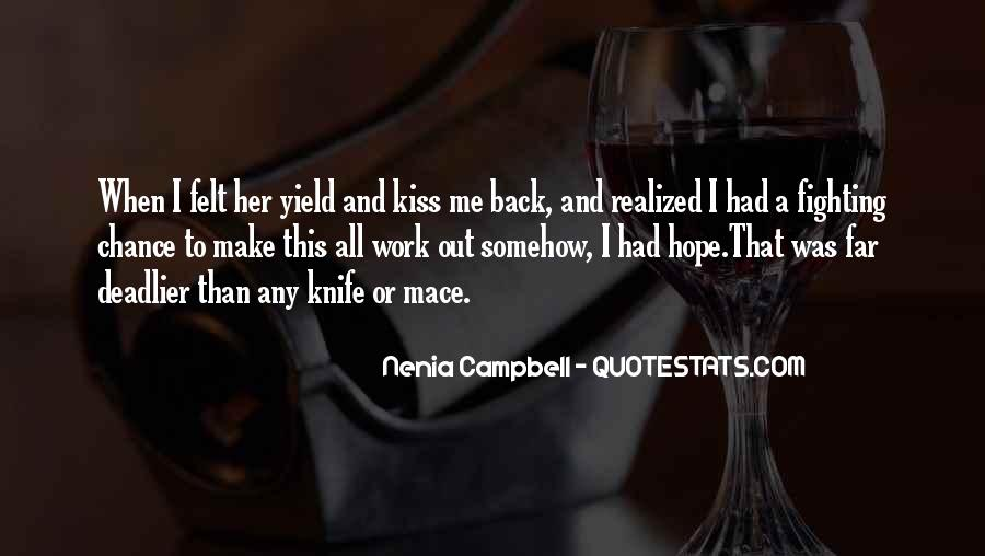 Quotes About Knife Fighting #1610463