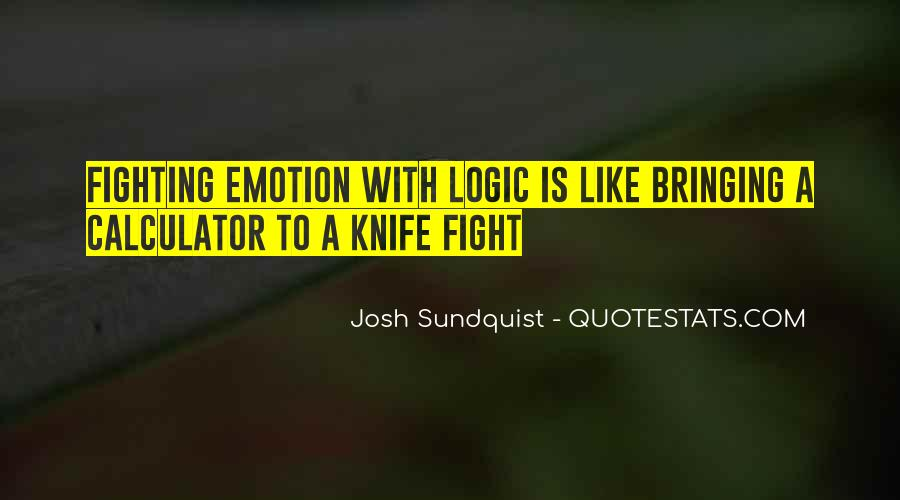 Quotes About Knife Fighting #833394