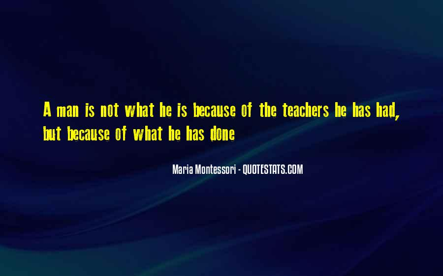 Quotes About Montessori Teachers #1616777
