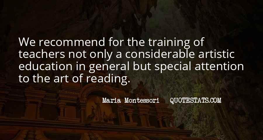 Quotes About Montessori Teachers #511870