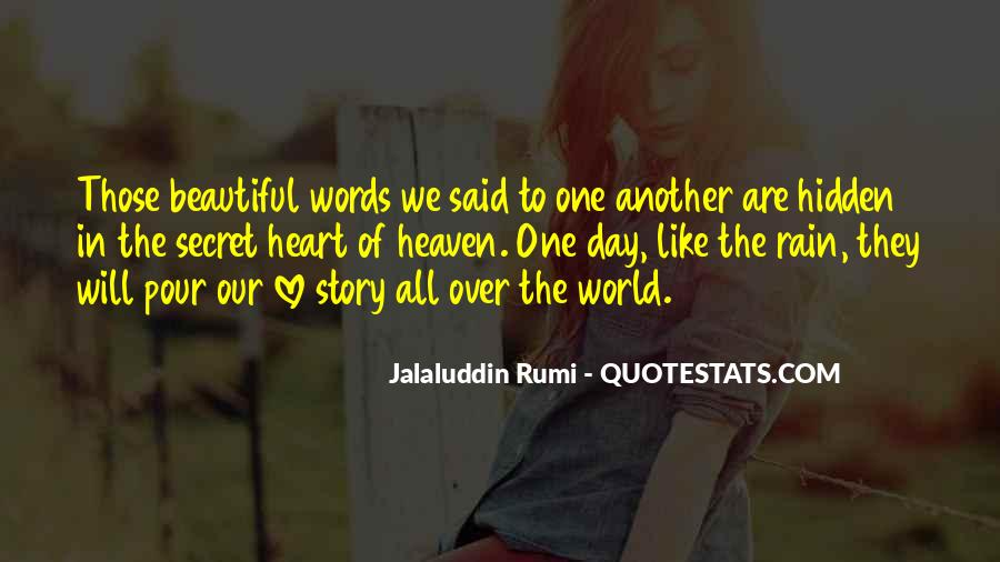 Quotes About Self Love Rumi #95731