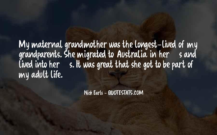 Quotes About Great Grandparents #1088947