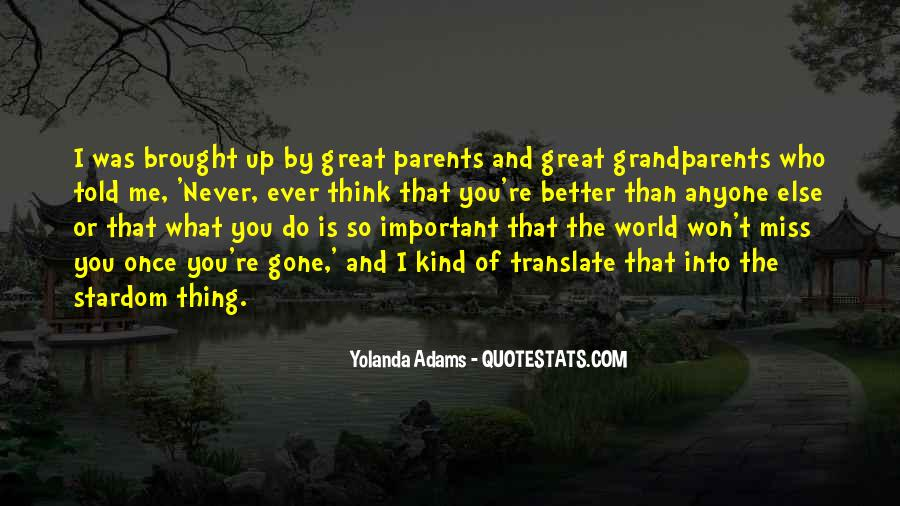 Quotes About Great Grandparents #1808044