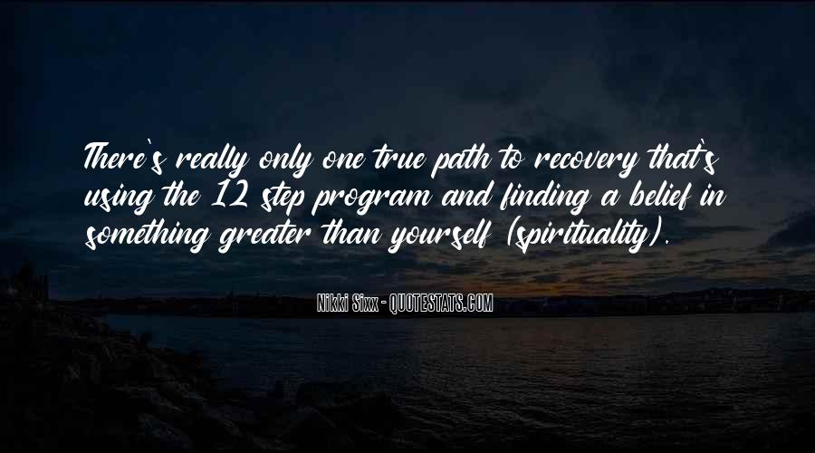 Quotes About 12 Step Recovery #1227945