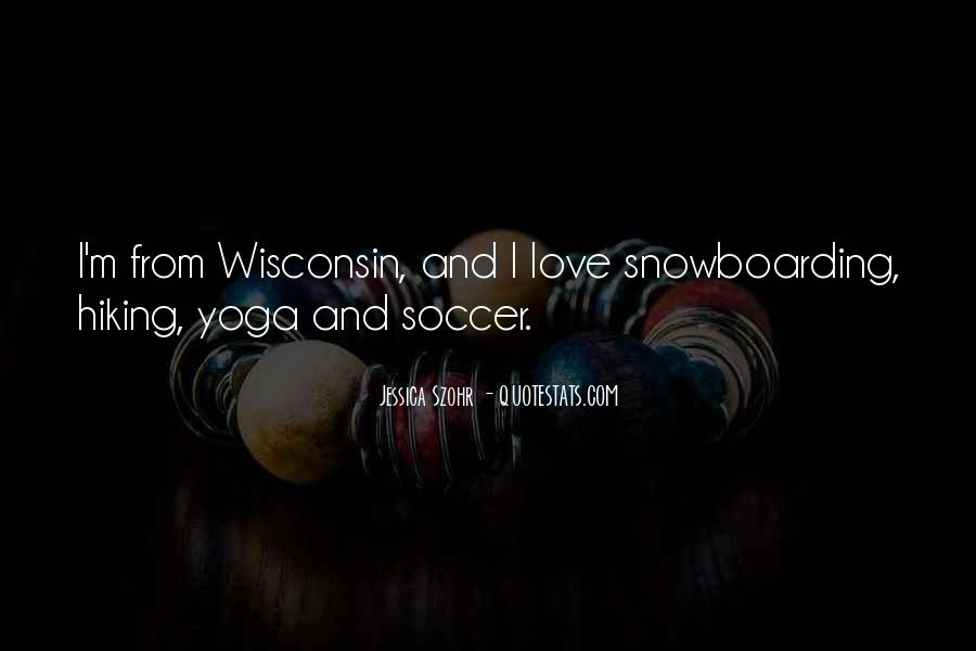 Quotes About Soccer And Love #1122940