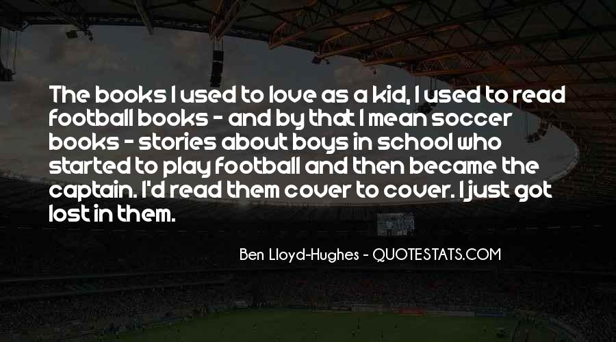 Quotes About Soccer And Love #1173608