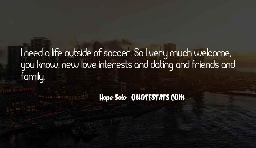 Quotes About Soccer And Love #1661900