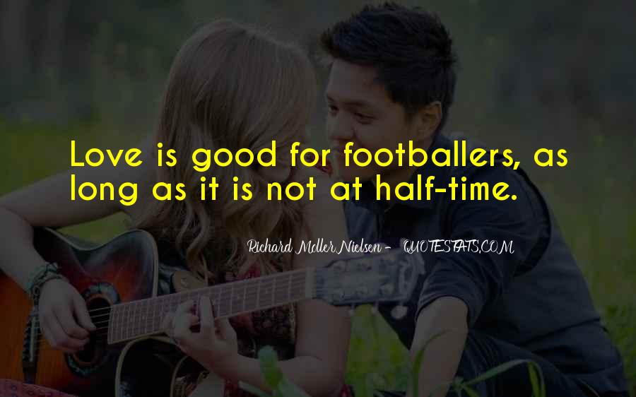 Quotes About Soccer And Love #974955