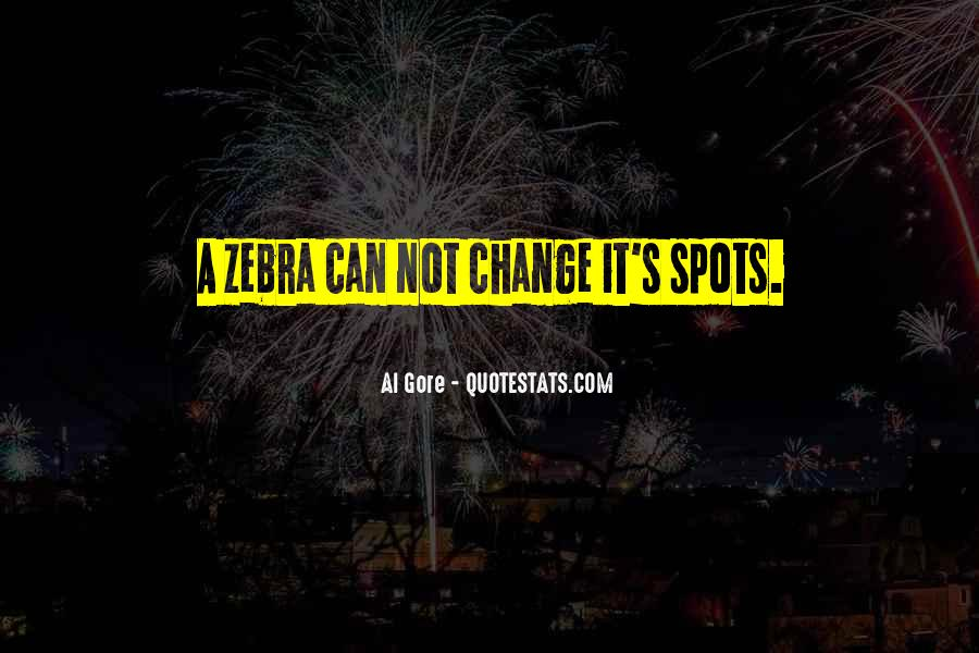 Quotes About Zebras #1275632
