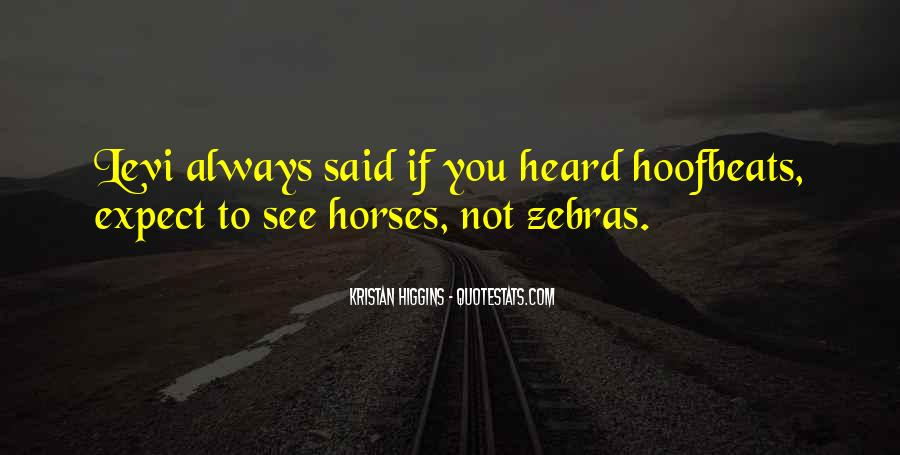 Quotes About Zebras #1338560